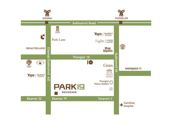 Location - Park 19 Residence
